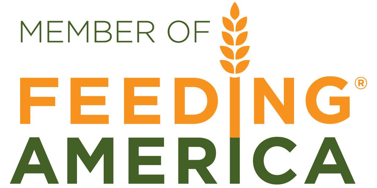 Member of Feeding America logo